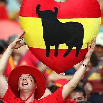 ¡España! ¡España!...y una enorme alegría